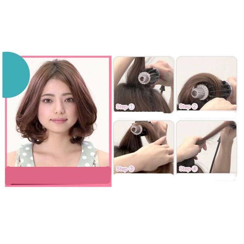 LCD Temperature Control Flashlight Straight Curl Machine Multifunctional Thermostatic Tourmaline Ceramic Hair Curler Hair Care