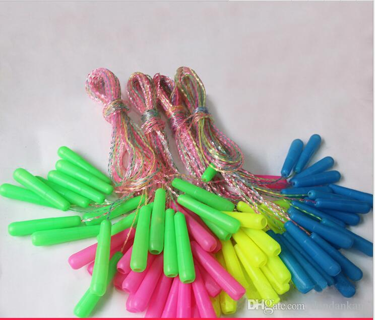 Outdoor sports kids jump ropes plastic kids fitness ropes skipping crossfit Speed Rope for Gym Training Sports Exercise
