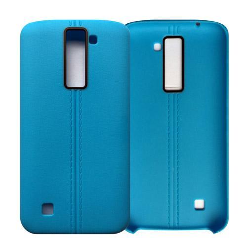 fashion Ultrathin line TPU Soft PU leather matte case cover skin for LG K7 cheap case