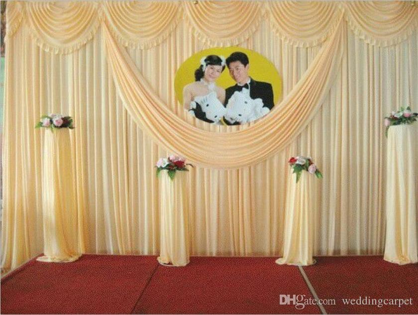 36m Wedding Supplies Backdrops Curtain New Design Sequins Cheap