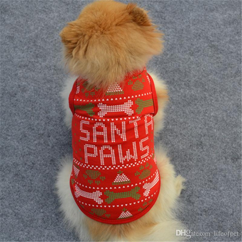 Cute Pet Puppy Small Dog Cat Pet Clothes Vest T Shirt Apparel cheap dog clothes shirt vest