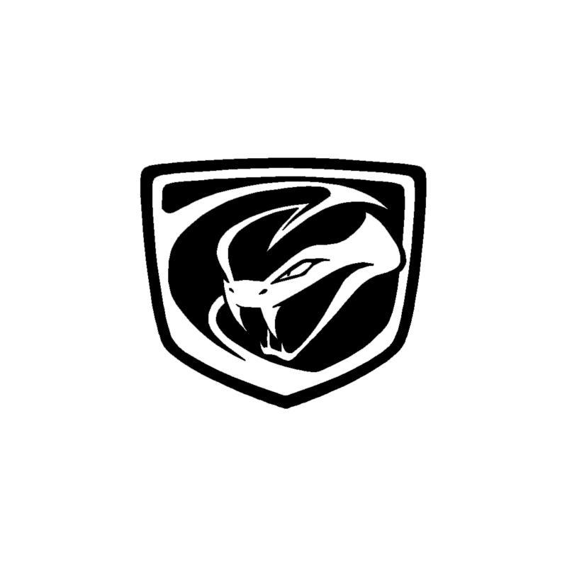 2018 viper logo vinyl decal car truck window body sticker from rh dhgate com dodge viper logos viper logo upside down