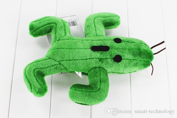 Final Fantasy Cactus Cactuar Plush Toy Green Plant Stuffed Soft Dolls With Tag Christmas Gift 24cm Approx