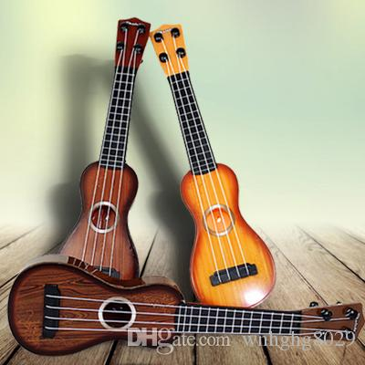 Children Toys Simulation Mini Instrument Guitars Beginners Can Play ...