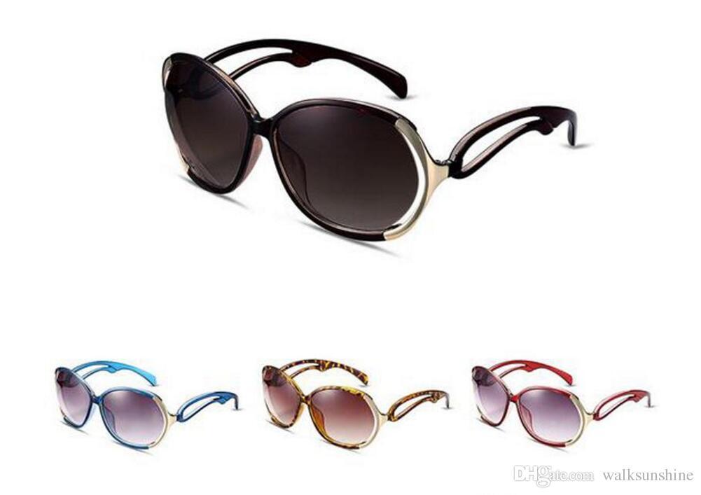 9bbb6c0b1bb Direct Sale New Women Brand Designer Personality Round Sunglasses Lady Sunglasses  Acetate Frame Reflective Glasses Designer Sunglasses Sunglasses For Women  ...