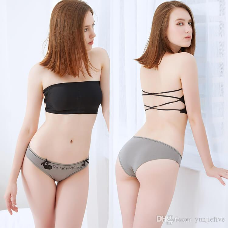 Moq Yun Meng Ni Sexy Underwear Bow Hot Teen Girls Briefs Soft Cotton Women Panties For Women From Yunjiefive   Dhgate Com