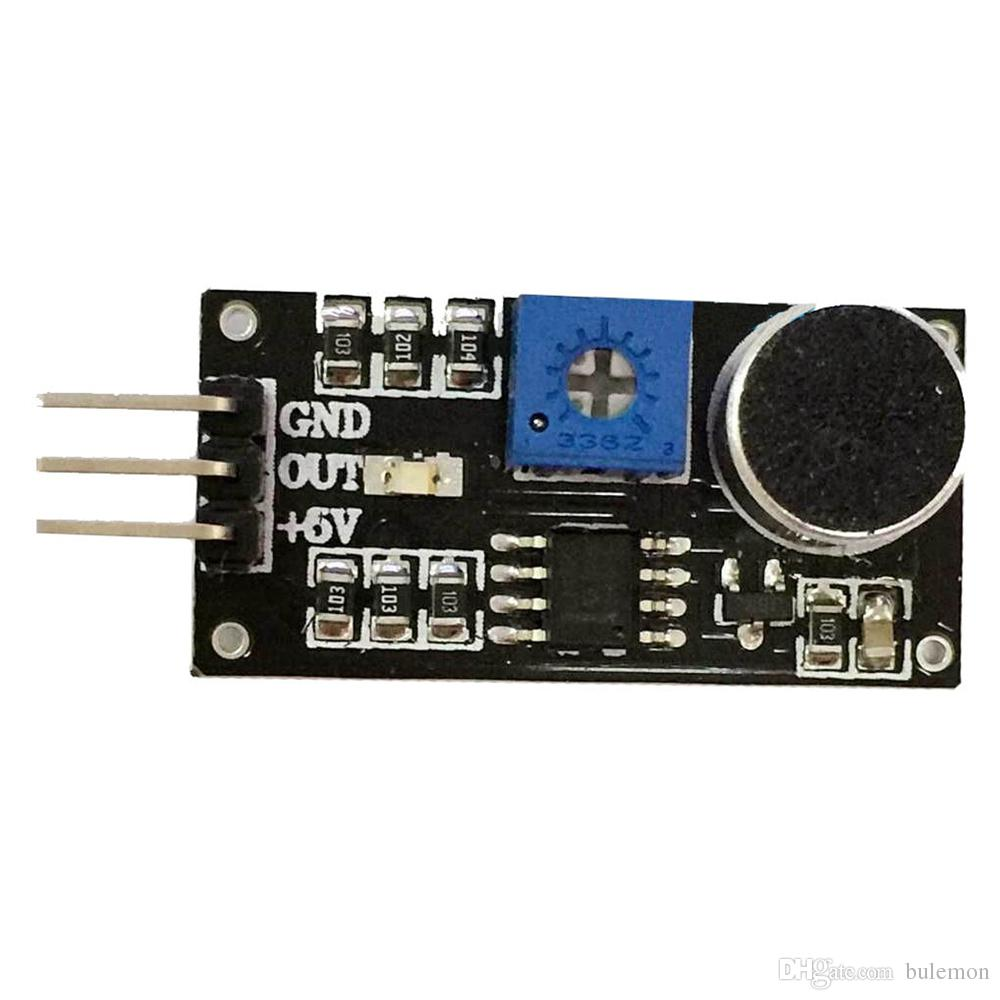 Sound Detection Sensor Module LM393 Sound Sensor Horn Smart Car Special For  Arduino