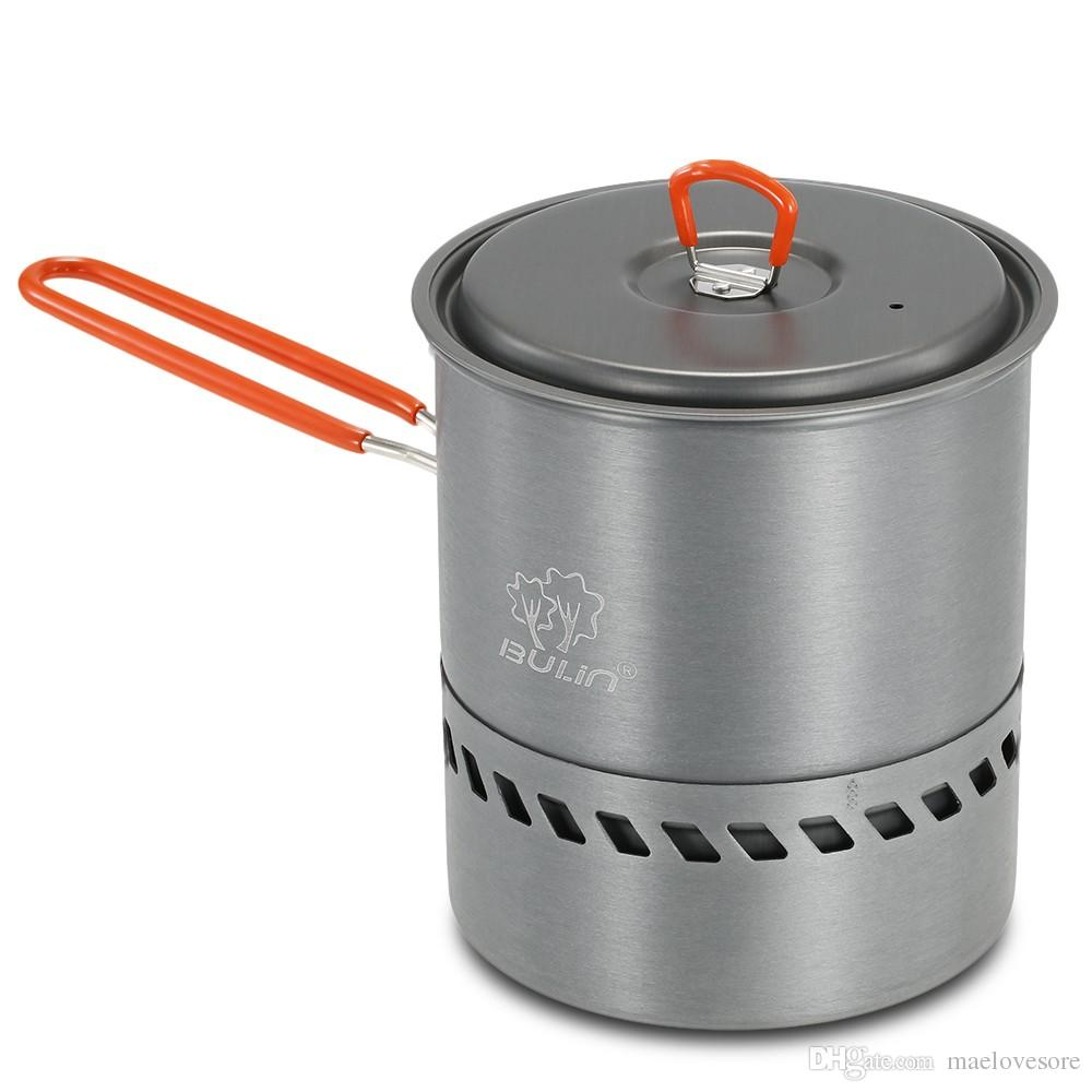 1.5l Outdoor Cook Pot Cooking Equipment Tools Portable Hiking ...