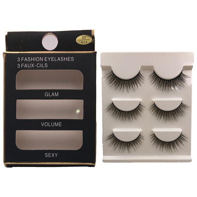 aaad5102678 New Natural False Eyelashes Fake Lashes Long Makeup 3d Mink Lashes  Extension Eyelash Mink Eyelashes For Beauty Individual Eyelashes Semi  Permanent Eyelashes ...