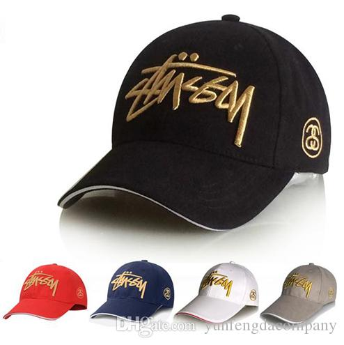 Tide men baseball cap twill embroidery caps girl letter logo custom cotton hats hot sell free shipping