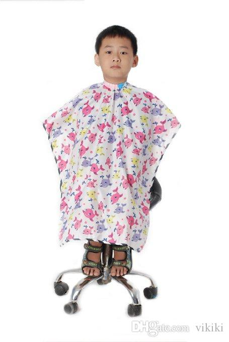 Salon Hairdressing Kids Capes Children Professional Hair Cutting