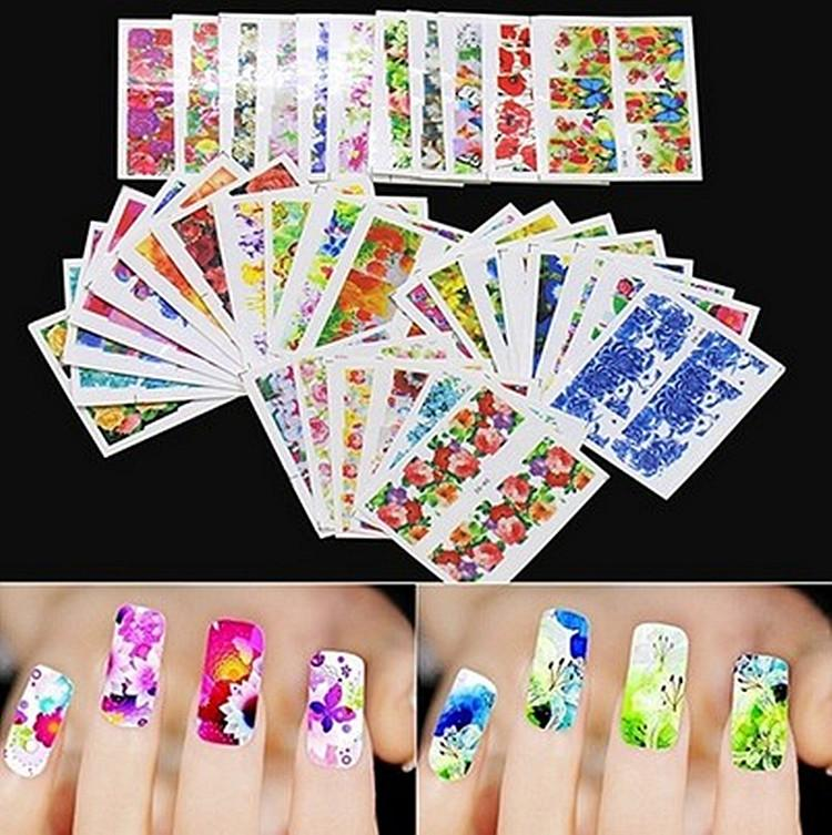 Exquisite Nail Watermark, Stickers, Nail Decals Nail Sticker Makeup ...