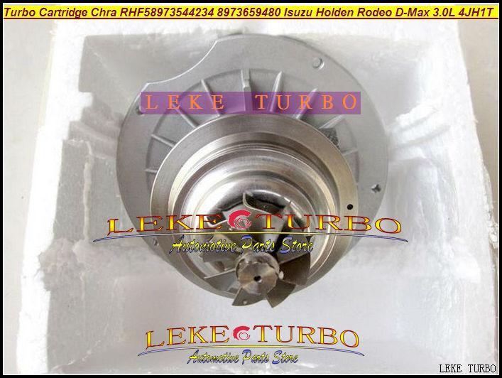 RHF5 24123A 8973544234 8973659480 VB430093 Turbocharger Cartridge Turbo Chra Core For ISUZU Holden Rodeo D-Max 3.0L 2003- 4JH1T 130HP (1)