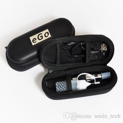 EGO CE4 Single Kit Zipper Case Electronic Cigarette Starter Kit E-Cigarette 650mah 900mah 1100mah Battery best price CE4 vaporizer