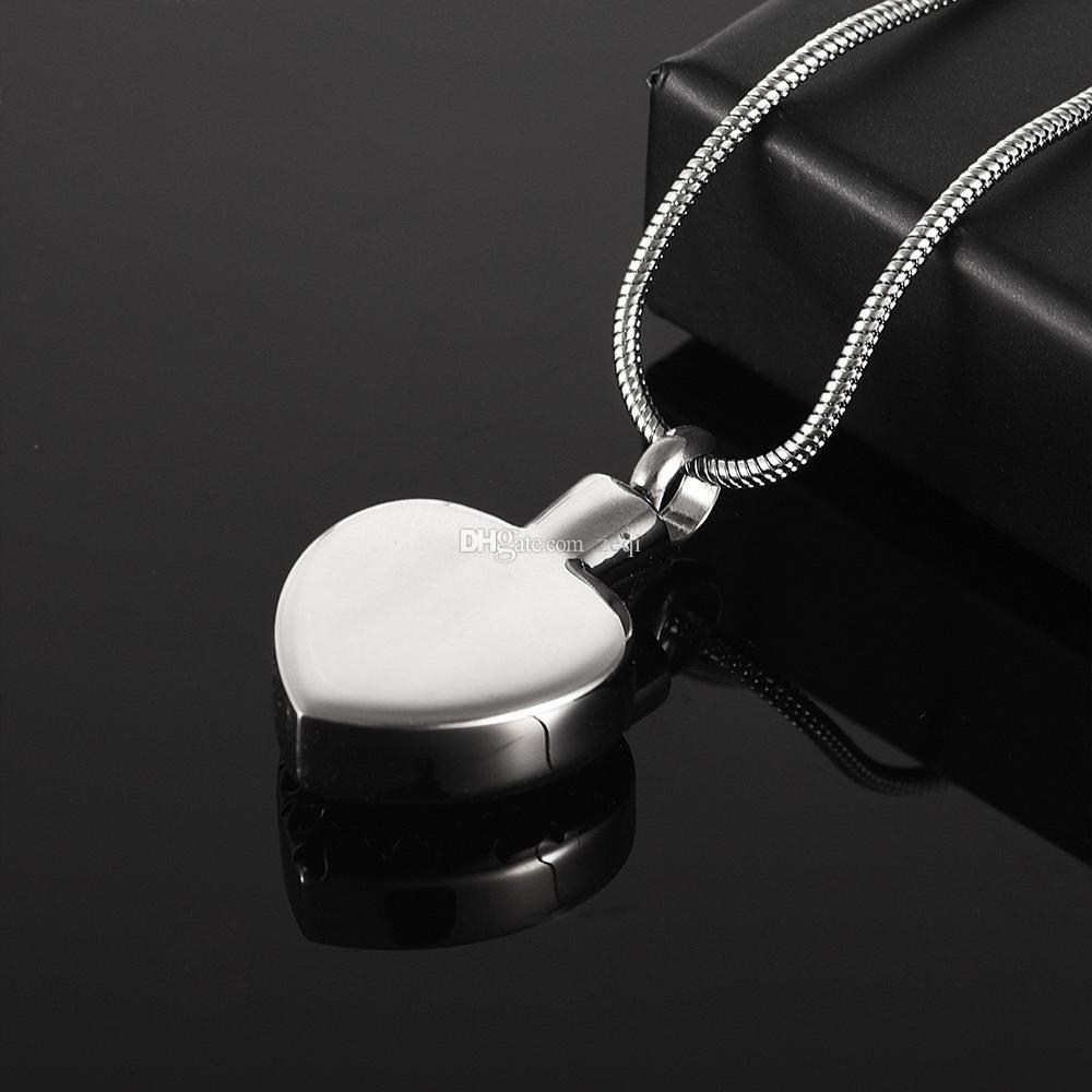 cmj8373 Charme Suspension Urne de Crémation Pendentif Animaux / Humain Cendres Souvenirs Funéraires Urne Mémorial Bijoux Livraison Gratuite