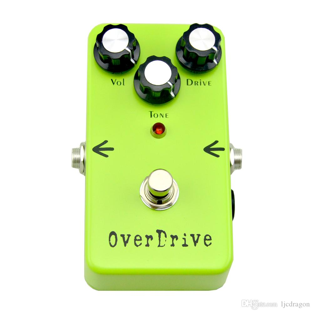 Guitar Effect 2016 NEW Overdrive Electro-Harmonix r Guitar Effects Pedal True Bypass FREE SHIP
