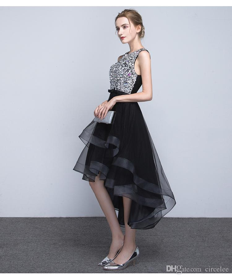 Celebrity Dresses Beautiful Evening Gowns Sweety Formal Wear Short Front Long Back Cheap Cocktail Dresses Online