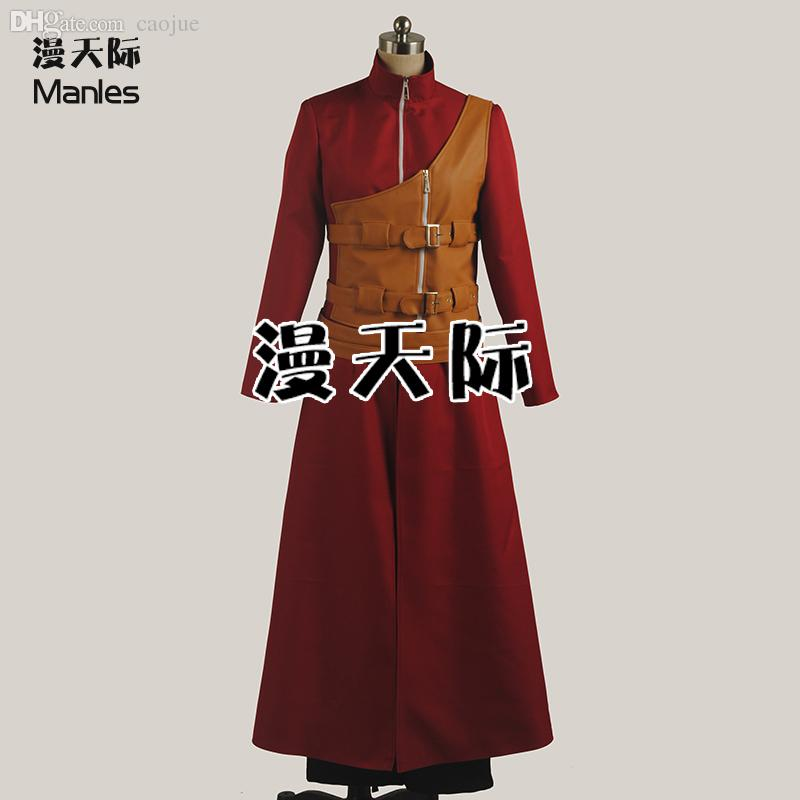 Wholesale-2016 Anime Naruto Cosplay Costume Gaara Cosplay Costume Free Shipping