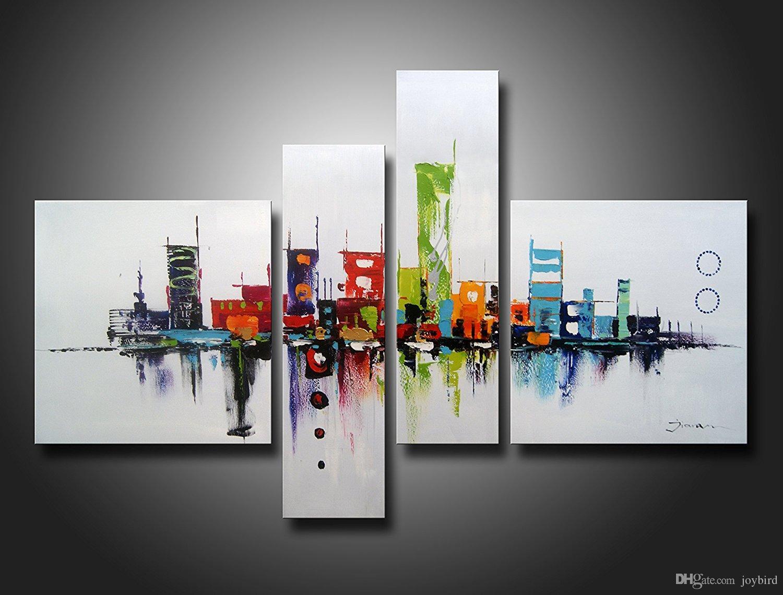 Großhandel Moderne Artwok Wand Kunst Dekor Abstraktes Ölgemälde ...