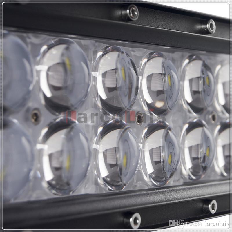 4D 52 Zoll 500 Watt gekrümmt CREE LED Arbeitslichtbar für Traktorboot Offroad 4WD 4x4 Truck SUV ATV Combo Balken 12V / 24V
