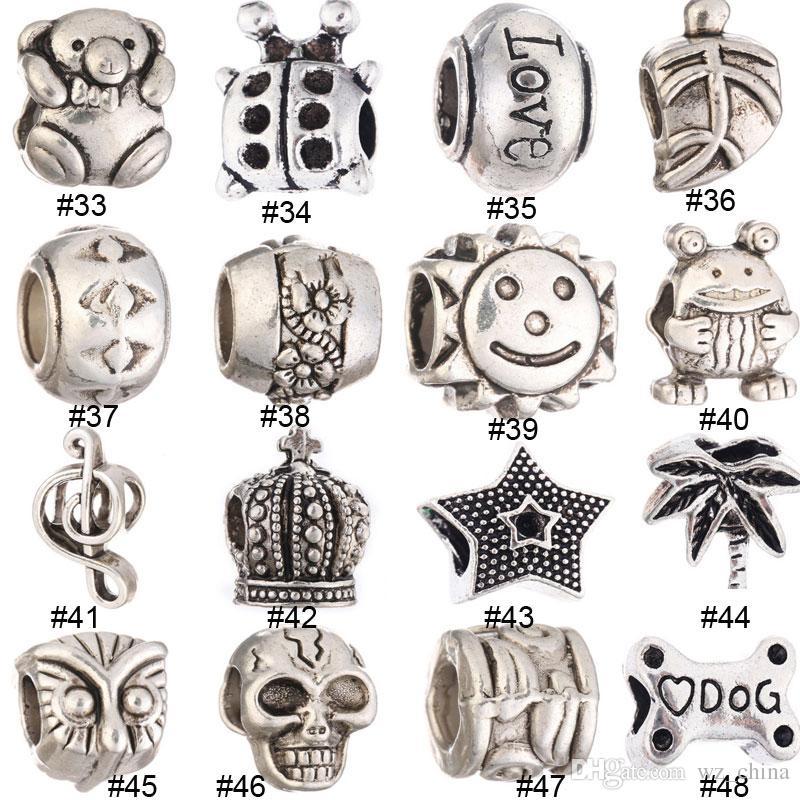 Новые свободные бусины мода DIY уникальный Морская звезда ювелирные изделия Loose Шарм Gem бисера, пригодный для европейских DIY браслеты ожерелья цепи подарки #8