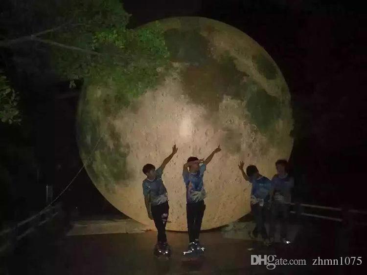 специализированный магазин Сид раздувной Луны имитации Луны шарика Луны искусственной включенное, пневматический насос, польза для большой партии,celebra празднества