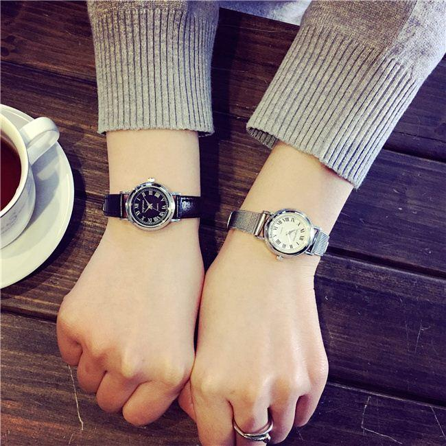Korean classic small dial literary small fresh all-match simple Decapterus Damen sportswear students watch