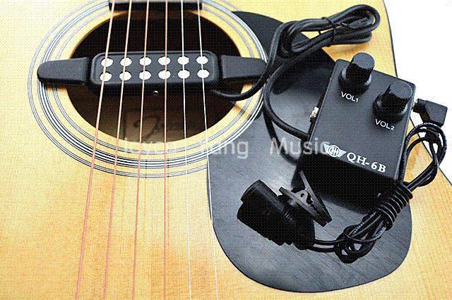 2019 qh 6b acoustic guitar pickup wire amplifier speaker microphone volume control box pickups. Black Bedroom Furniture Sets. Home Design Ideas