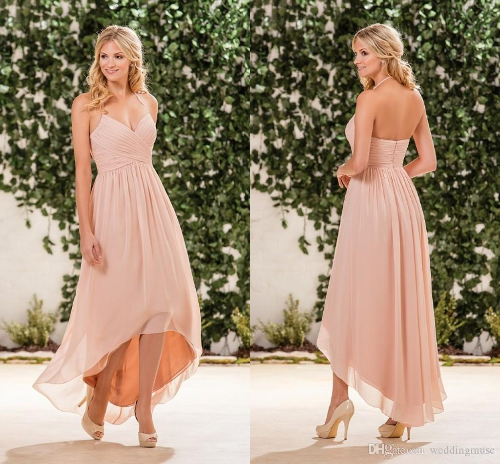 High low jasmine skin pink cheap bridesmaid dresses halter high low jasmine skin pink cheap bridesmaid dresses halter sleeveless a line ruffles junior bridesmaid dresses b183057 bridesmaid dresses kids bridesmaid ombrellifo Image collections