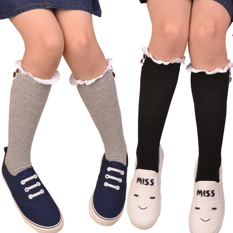 Großhandel Mode Mädchen Herbst Socken Kinder Kinder Kniesocken Baby ...