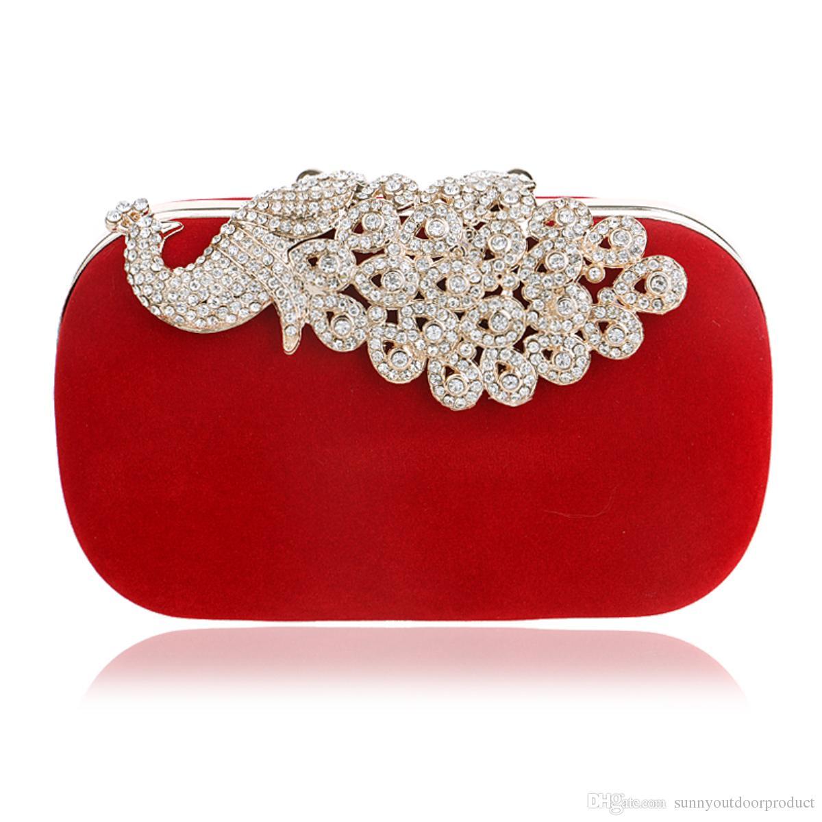 Kleidung & Accessoires Braut-accessoires Hart Arbeitend Abendtasche Brauttasche Clutch Handtasche Damen Schwarz Strass Hochzeit Ball Neu