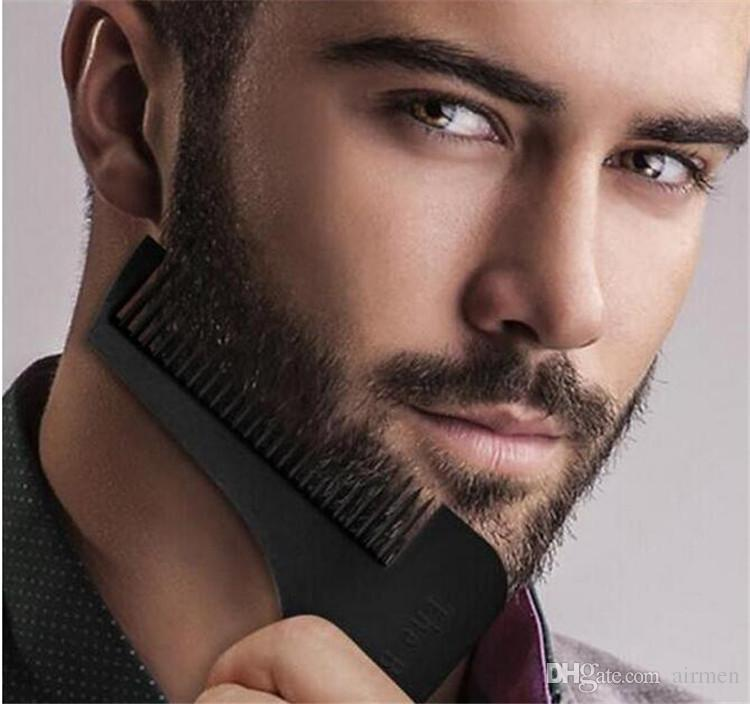 HOT Sale Beard Bro Beard Shaping Tool for Perfect Lines and Symmetry PRO SHAVING BEARD with package +logo Free Ship