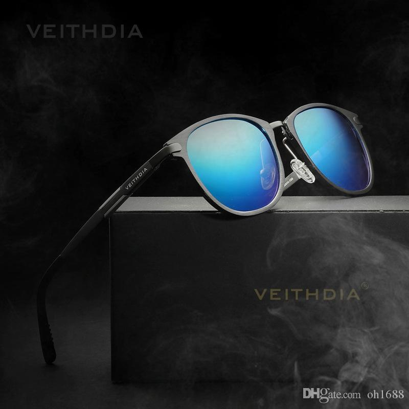 3674566705659 2018 New Summer VEITHDIA Polarized Vintage Retro Sunglasses Men Brand  Designer Women Sun Glasses Gafas Oculos De Sol Masculino 6680 Women Sunglasses  Men ...