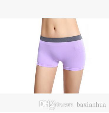 Wholesale 2016 Clothes for Women New Women Sexy Underwear Girls Boxer Shorts Panties Intimates Elastic Clothes Modal Shorts