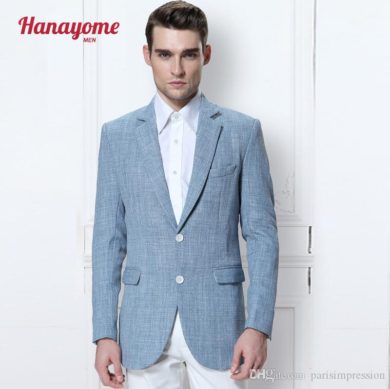 2017 New Champagne Groom Tuxedos Best Man Groomsman Wedding Suit ...