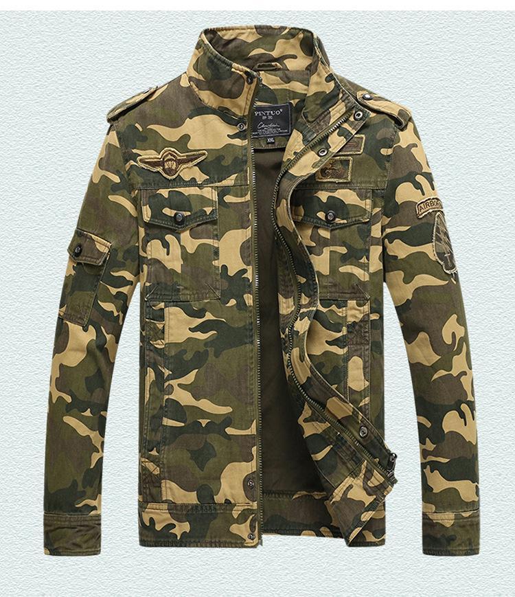 Jaquetas do exército dos homens mais o revestimento quente dos homens do bordado do vestuário do custo do tamanho 6XL para