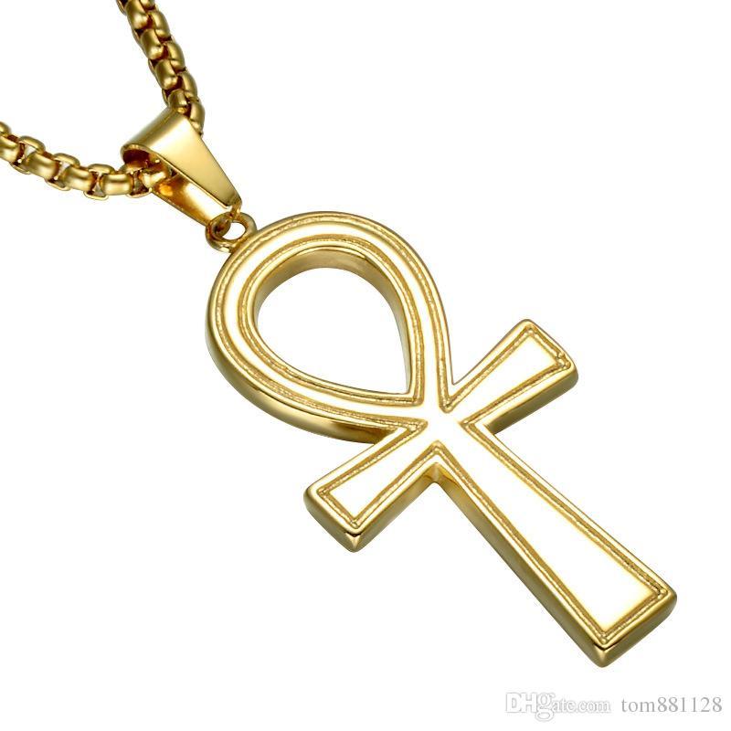 Wholesale Symbol Of Eternal Life Egyptian Ankh Cross Pendant