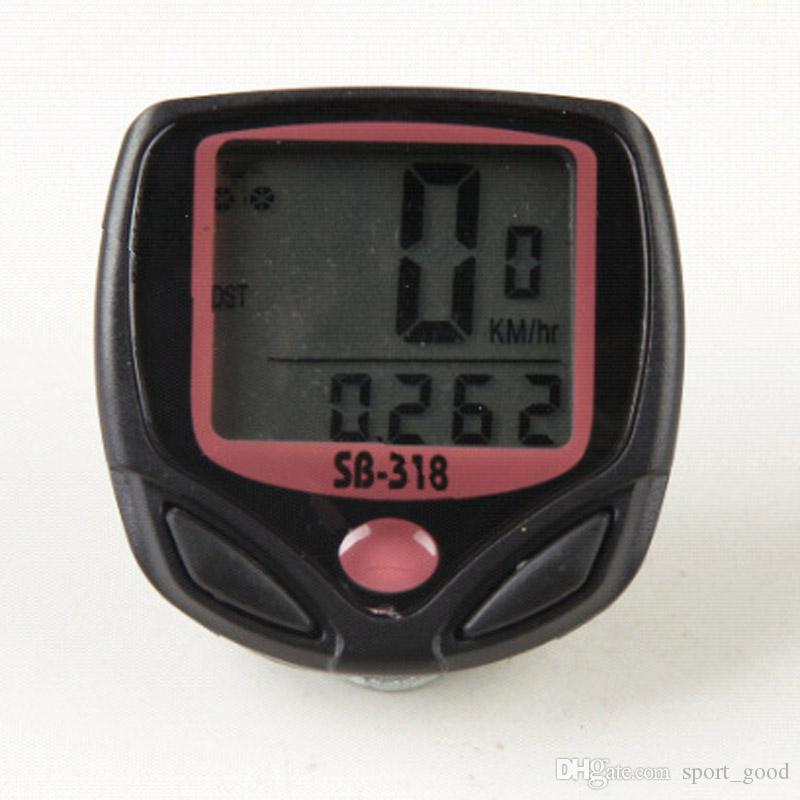 Outdoor Waterproof Mountain Bicycle Riding Bike Speedometer Cycling Computer Odometer Speedometer Stopwatch Bike Computers
