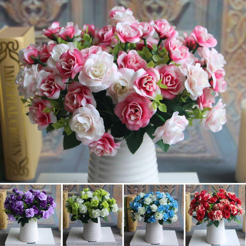Best quality austin bunch 15 heads spring silk flowers artificial best quality austin bunch 15 heads spring silk flowers artificial rose wedding floral decor plant flower arrangement home decor at cheap price mightylinksfo