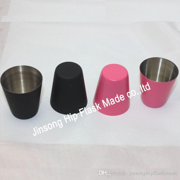 اللون الوردي أو الأسود 25 مل جودة الفولاذ المقاوم للصدأ الوالج ، والزجاج بالرصاص ، ويمكن خلط اللون مختلطة