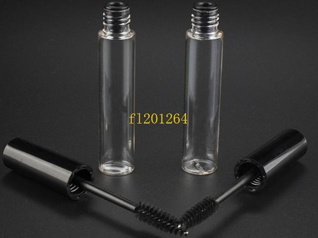 500 unids / lote Fedex DHL envío gratis 10 ml de rímel vacío tubo de pestañas crema frasco líquido botella contenedor