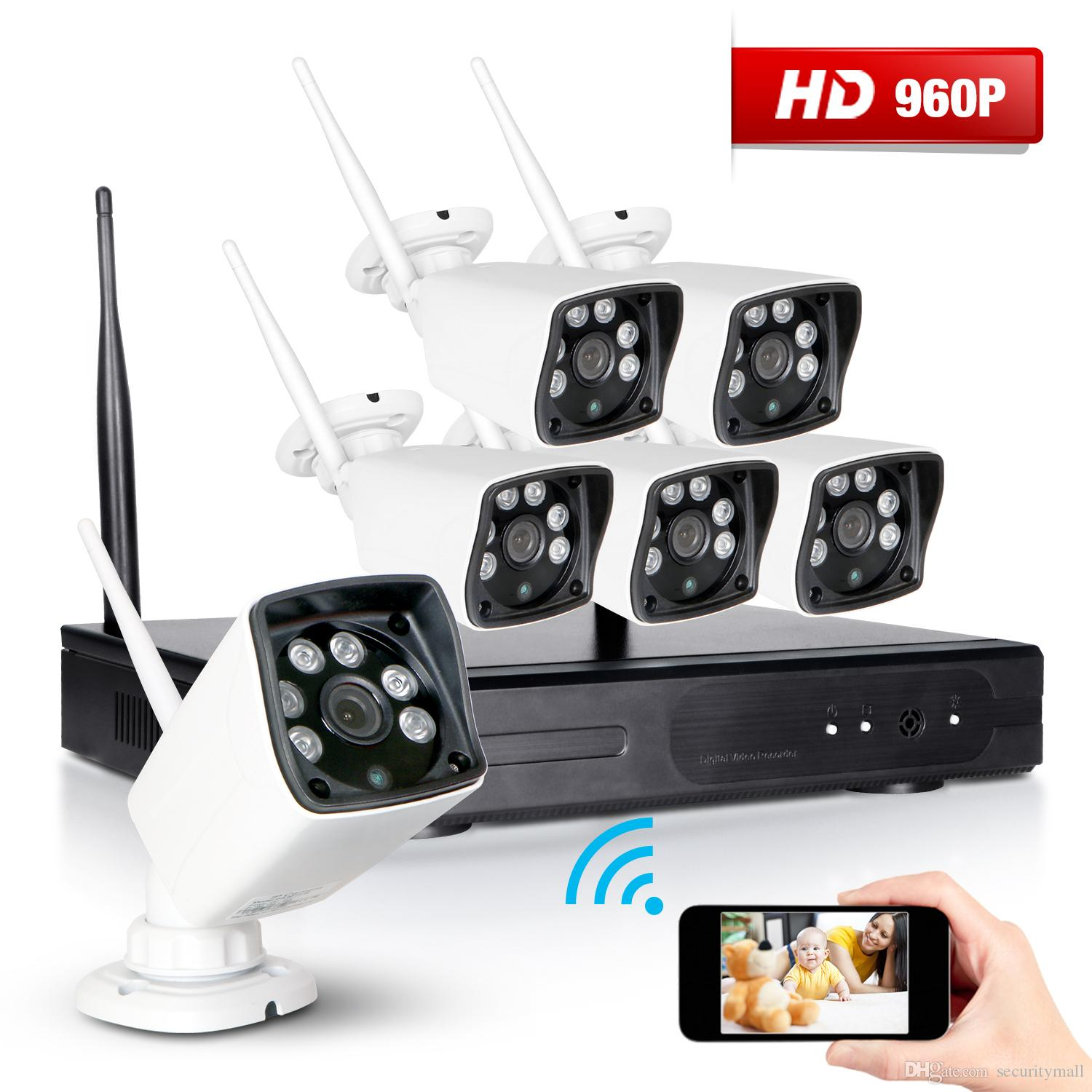 Online Cheap 6x 8ch 960p Nvr Wireless Cctv Security Camera System ...