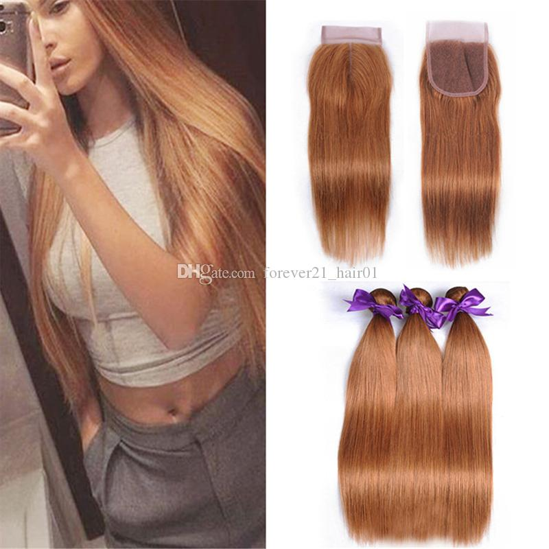 2019 peruvian straight virgin hair color 30 hair bundles with lace