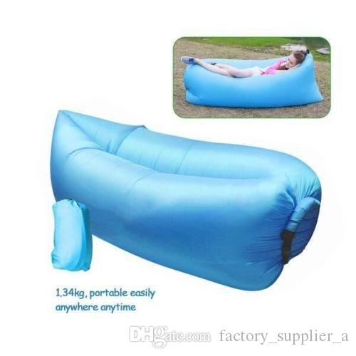 Outdoor Inflatable Hangout Portable Bag Lounger High Quality Nylon