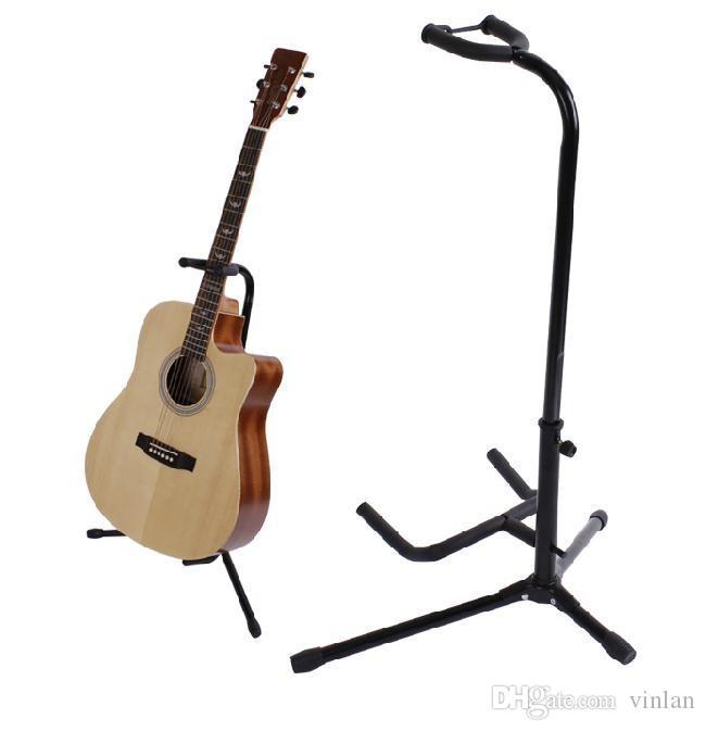 어쿠스틱 일렉트릭베이스 기타 부품 용 기타 스탠드 용 블랙 기타 액세서리
