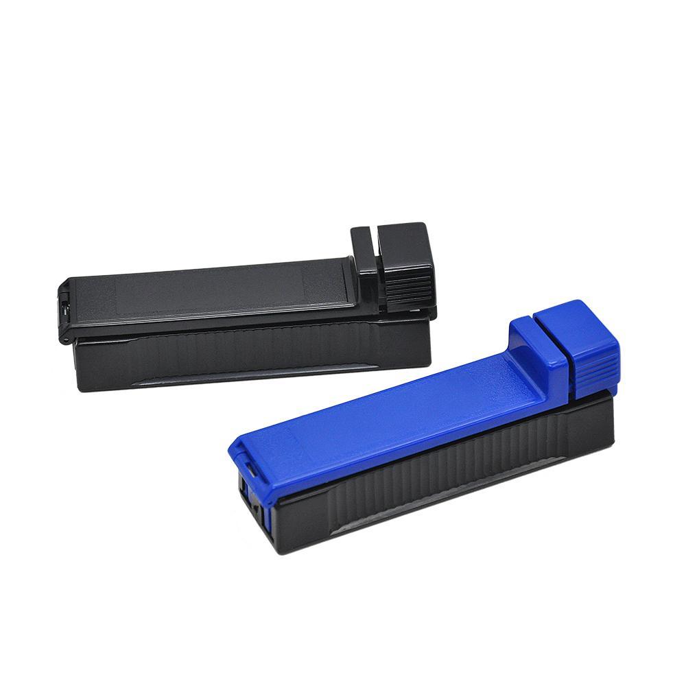 Multi colore plastica manuale manuale tabacco rotolamento iniettore custodia iniettore tubo riempimento roller maker free drop shipping all'ingrosso