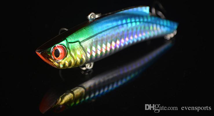 Big Game Lure Sea Fishing VIB Vibration For Bass Artificial Bait 9cm 35g Night Fishing Glow in dark