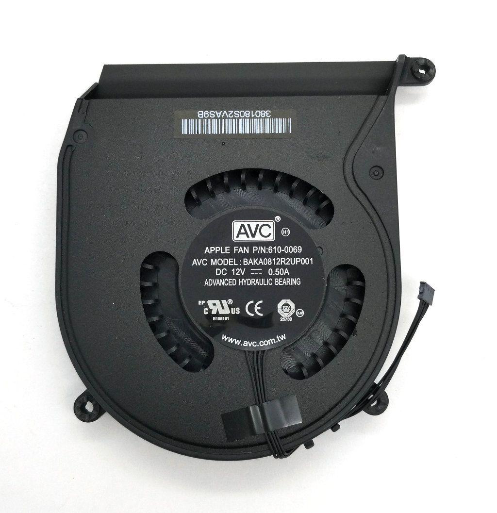 جديد الأصلي AVC BAKA0812R2UP001 DC12V 0.50A مروحة التبريد P / N: 610-0069 A1347 منتصف وحدة المعالجة المركزية