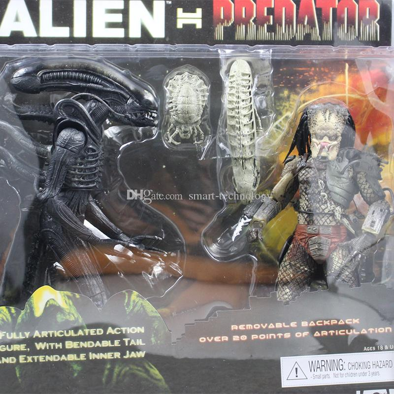 NECA Alien VS Predator Tru Exclusive 2-Pack PVC Action Figure best christmas gift Toy