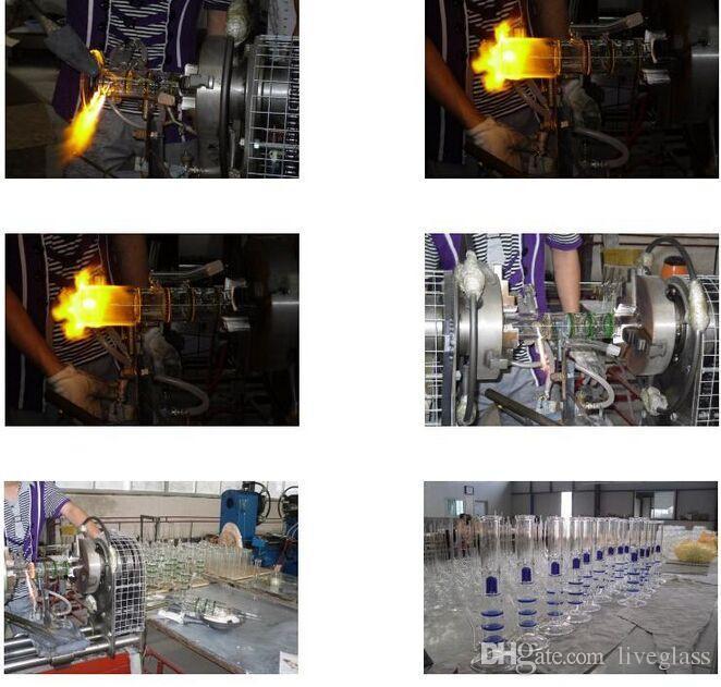 Pintados tubo-de-rosa de vidro Bongs Oil Rigs vidro Eggosphere combinação de plataforma bola com união fêmea 14 milímetros fab